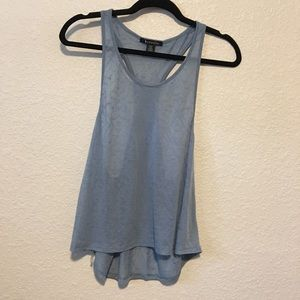Racerback Bozzolo Tank with Low Sides